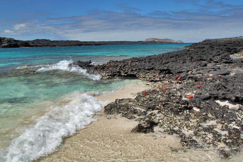 Landscape Chinamans Hat - galapagos islands