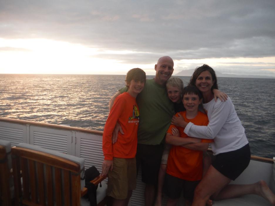 Family trip to Galapagos
