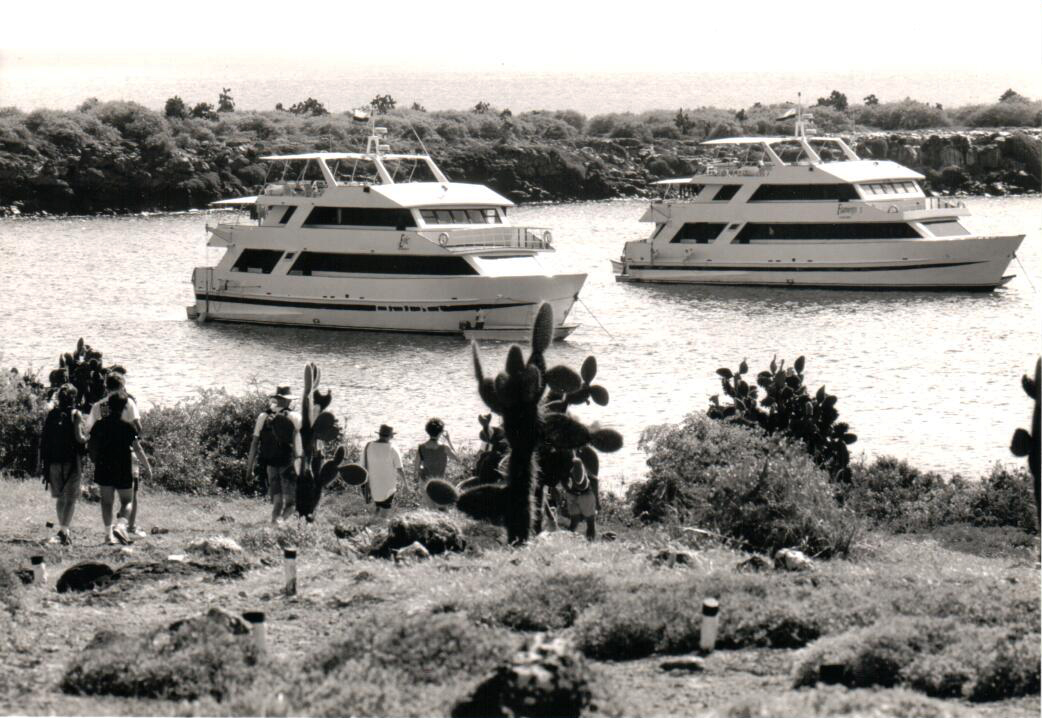 Cruising the Galapagos for 25 years