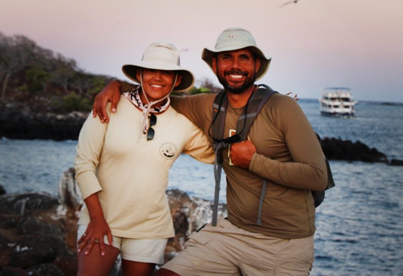 Galapagos Islands, Nature Guides, Cecibel & Gustavo (1)